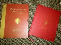 Winnie the pooh book hard back and box