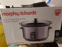 Morphy Richards new slow cooker