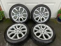 "Range Rover Evoque Alloy Wheels 20"" Freelander 2"