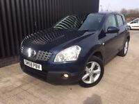 2009 (58) Nissan Qashqai 1.5 dCi Acenta 2WD 5dr 2 Keys Finance Available May Px