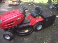 Ride on mower lawnflite MTD