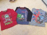 Thomas Tank Engine long T-shirts x3, age 2-3