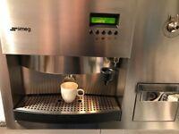SMEG scm1-1 coffee machine built-in