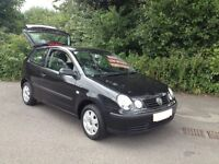 2005/ 05 REG VOLKSWAGEN POLO SDI HATCH/LOW MILES/NEW MOT/HI SPEC/ALLOYS/ELECTRIC PACK