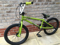 bicycle BMX Voodo green- for children / teenagers - just use few times