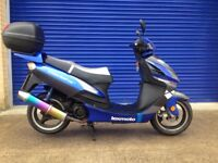 2014 LEXMOTO GLADIATOR 125 SPORTS SCOOTER , HPI CLEAR , 9 MONTHS MOT