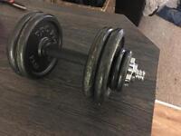10kg cast iron dumbell
