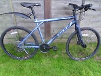GT Aggressor ZUM 2 Urban hybrid mountain bike, hydraulic disc brakes, vgc not Trek Specialized Whyte