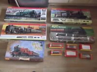 for sale hornby oo gauge model railway collection with purpose built layout.