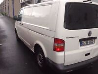 2004 vw transporter t5 1.9 irish van no vat