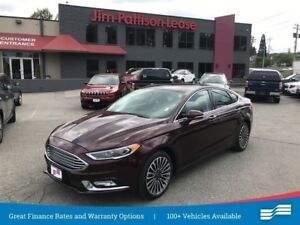 2017 Ford Fusion Titanium w/ Leather and Navigation