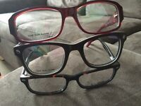 Spectacle frames with lenses