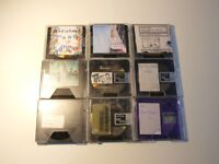 Blank Minidiscs, MDs, Mini discs, pre recorded, x 9