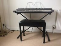 Casio CPS-201 Keyboard, Stand & Footstool