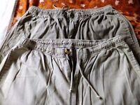 2 pairs mens waist 36