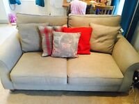 Grey Sofa (medium size holds 3) still on NEXT HOME website - 1 year old