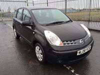 2008 Nissan Note 1.4 , mot - February 2018 , service history ,2 owners,focus,astra,scenic,meriva
