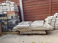 Indian Sandstone Paving and edging