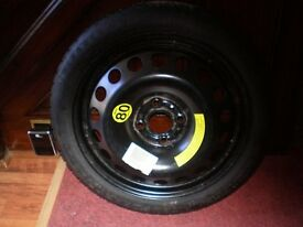 VAUXHALL ASTRA CLUB SPARE WHEEL