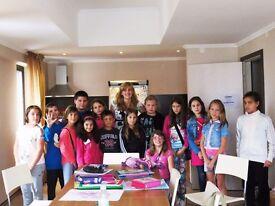 English Summer camp Bulgaria - internships