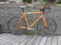 Genesis Day One Reynolds Steel Singlespeed Road Bike. 60cm.