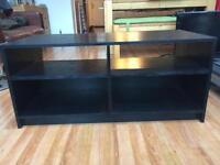 TV unit - black wood