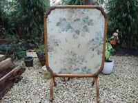 Firescreen/Card Table (Vintage)