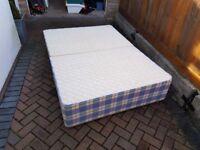 Double Bed Base Unit