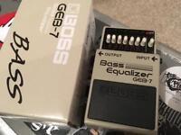 BOSS GEB-7 Bass EQ Pedal