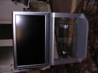 "toshiba 32"" lcd television -It is silver in colour"
