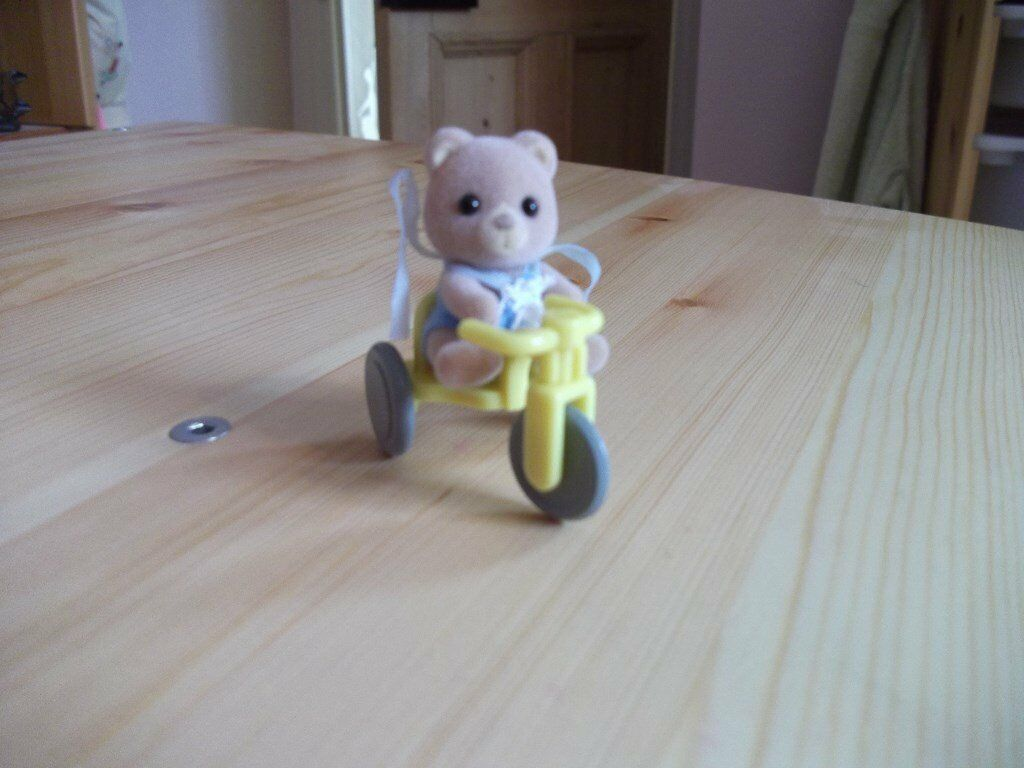 Sylvanian Families Baby Carry Case Bear On Tricycle In Long Buckby Northamptonshire Gumtree
