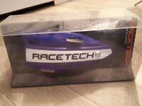 Racetech vertigo motocross handguards yz blue
