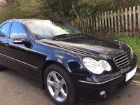 Smart executive low mileage full leather Mercedes C270 CDI Avantgarde SE