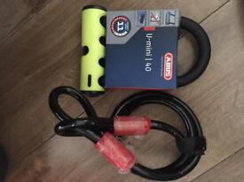 Abus u mini 40 bike lock