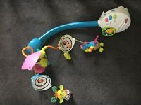 Musical cot mobile, Fisher Price, Night Light.
