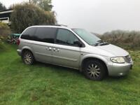 Chrysler voyager CRD LX 2.5 *needs attention*