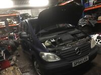Mercedes vito 111 cdi diesel spare parts available