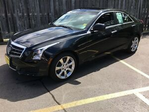 2014 Cadillac ATS 2.0L Turbo, Leather, Sunroof, Only 56, 000km