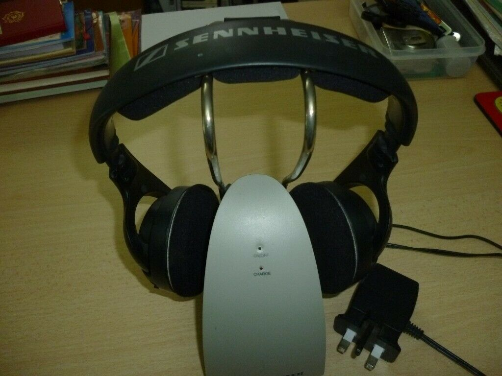 quality sennehiser wireless headphones,connect any tv,hifi,pc,laptop  etc with charger,excellent      | in Harrow, London | Gumtree