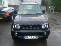 NOT TO BE MISSED 2005 LOW MILES LONG MOT SUZUKI JIMNY VVTS ESTATE