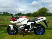 BMW R1100S Boxer Cup Replica, 3646 miles, one previous keeper. Swap for R1150GS.