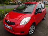 Toyota Yaris 2006 1.0L 3 DR ION. £1875 MOT 17.8.17 Tel 07989 257779 - Northampton Area