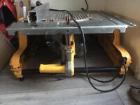 Dewalt flip saw 240v (table saw/chop saw)