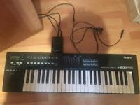Roland A-500PRO 49-Key MIDI Keyboard Controller & Roland Duo Capture