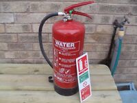 Fire Extinguisher Water 6 litre 13 a