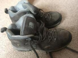 Karrimor men's walking shoes size 9/43