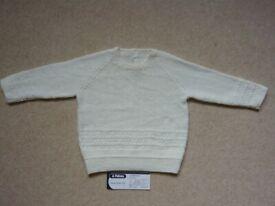 Jumper - toddler boy, brand new, hand knitted