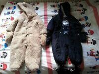 Boys bodysuits - 9-12 months