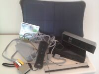 Wii Fit Console in Black