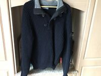 Stone island knitted jumper